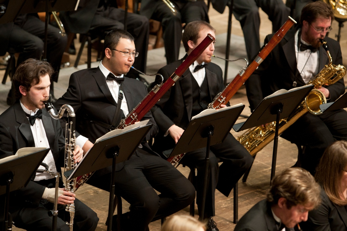 CCM's acclaimed Wind Orchestra.