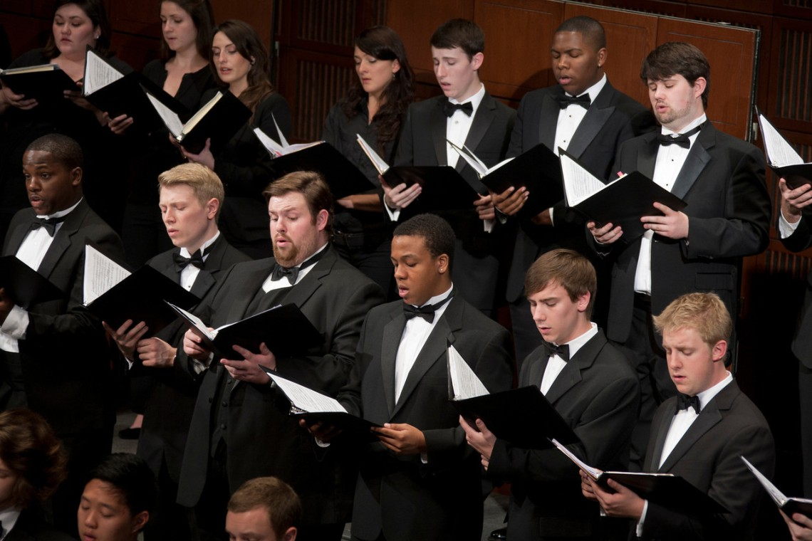 CCM's Chamber Choir.
