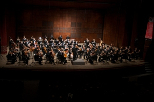 2013 Moveable Feast, Mark Gibson conducts the CCM Philharmonia.
