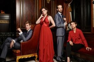 The Ariel Quartet, string quartet-in-residence at CCM.