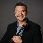 CSO concertmaster Timothy Lees.