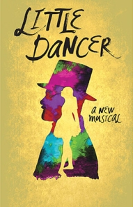 The official poster for the Kennedy Center musical 'Little Dancer.' Illustration/Kennedy Center.