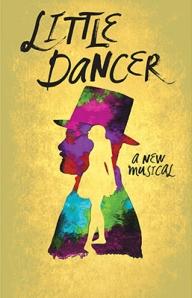 The official poster for the Kennedy Center musical 'Little Dancer.' Illustration/Kennedy Center.
