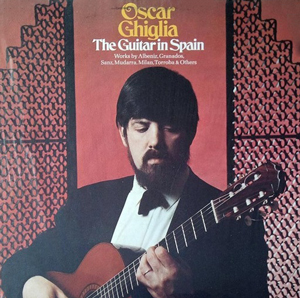 Guitar virtuoso Oscar Ghiglia.