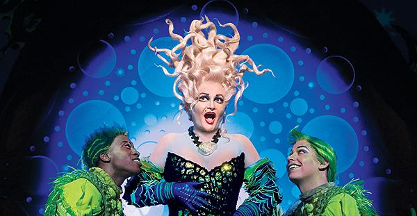CCM alumna Faith Prince as Ursula in Disney's 'The Little Mermaid.'