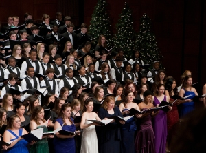 CCM's annual Feast of Carols. Photography by Dottie Stover.