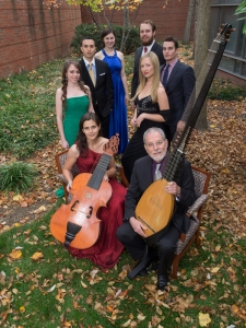 Guest artists and student soloists for CCM's performance of Monteverdi's 'Vespers of 1610.' Photography by Jay Yocis.