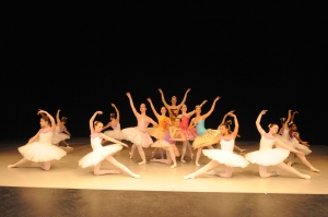 "CCM Prep's Youth Ballet Company performing ""Sleeping Beauty"" at a previous concert. Photography by Ann Choe."