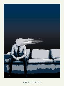 'Solitude' poster design by Garrett Corcoran.