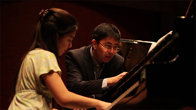 An Art of the Piano master class.