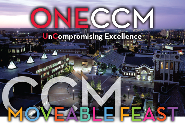 Moveable Feast returns to CCM Village on Friday, Jan. 23, 2015.