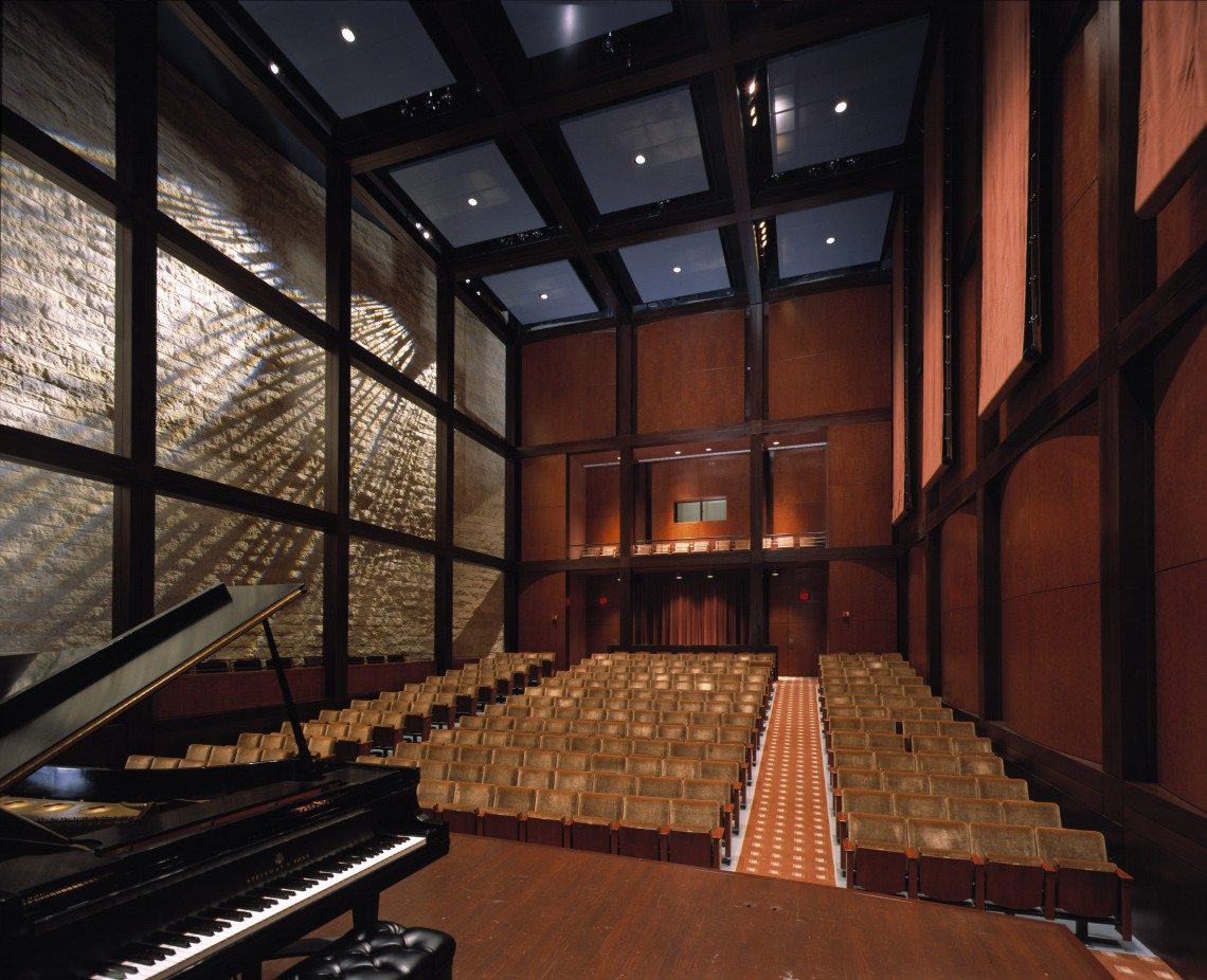 The Robert J. Werner Recital Hall at UC's College-Conservatory of Music.