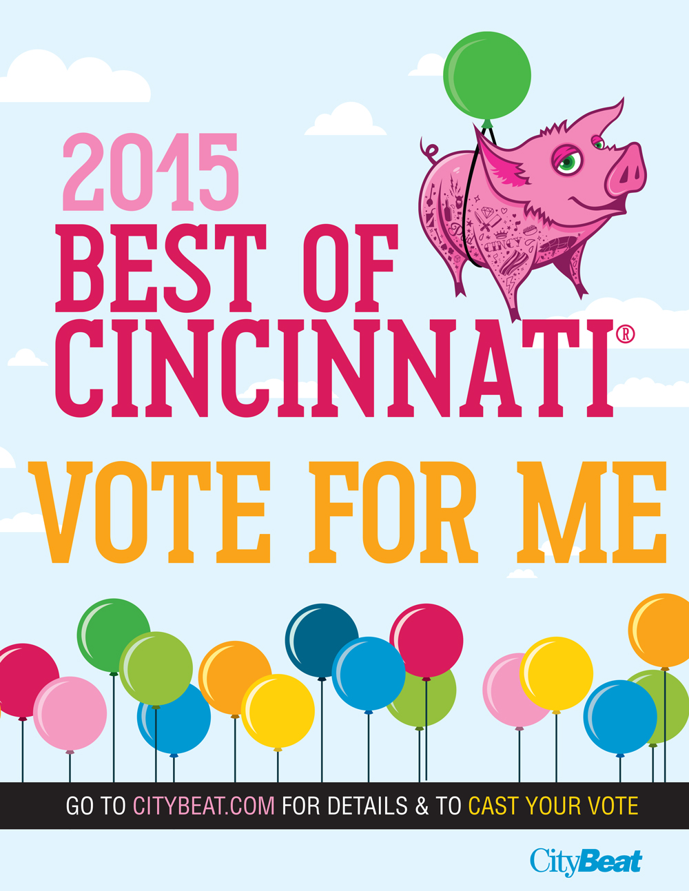 CityBeat Best of Cincinnati 2015 Poster.