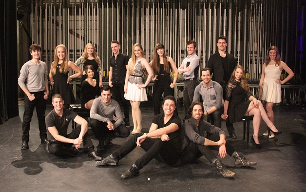 CCM's Class of 2015 in Musical Theatre: Alison Bagli, Sarah Bishop, Eric Geil, Tyler Huckstep, Nathaniel Irvin, Thomas Knapp, John McGill, Charlie Meredith, Christopher Morrissey, Kaela O'Connor, Dallas Padoven, DJ Plunkett, Madeleine Spacapan, Emily Trumble, Lawson Young and Hannah Zazzaro.