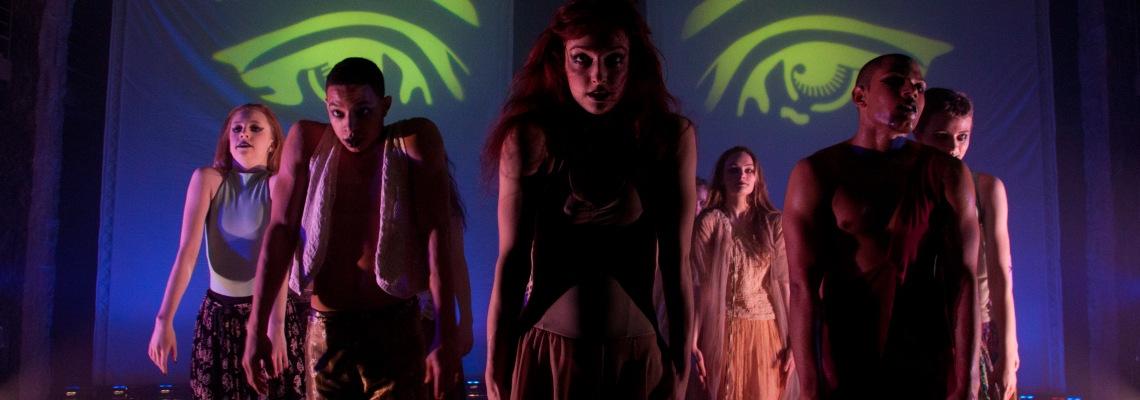 CCM Dance Student Choreographer's Showcase rehearsal photos by Adam Zeek.