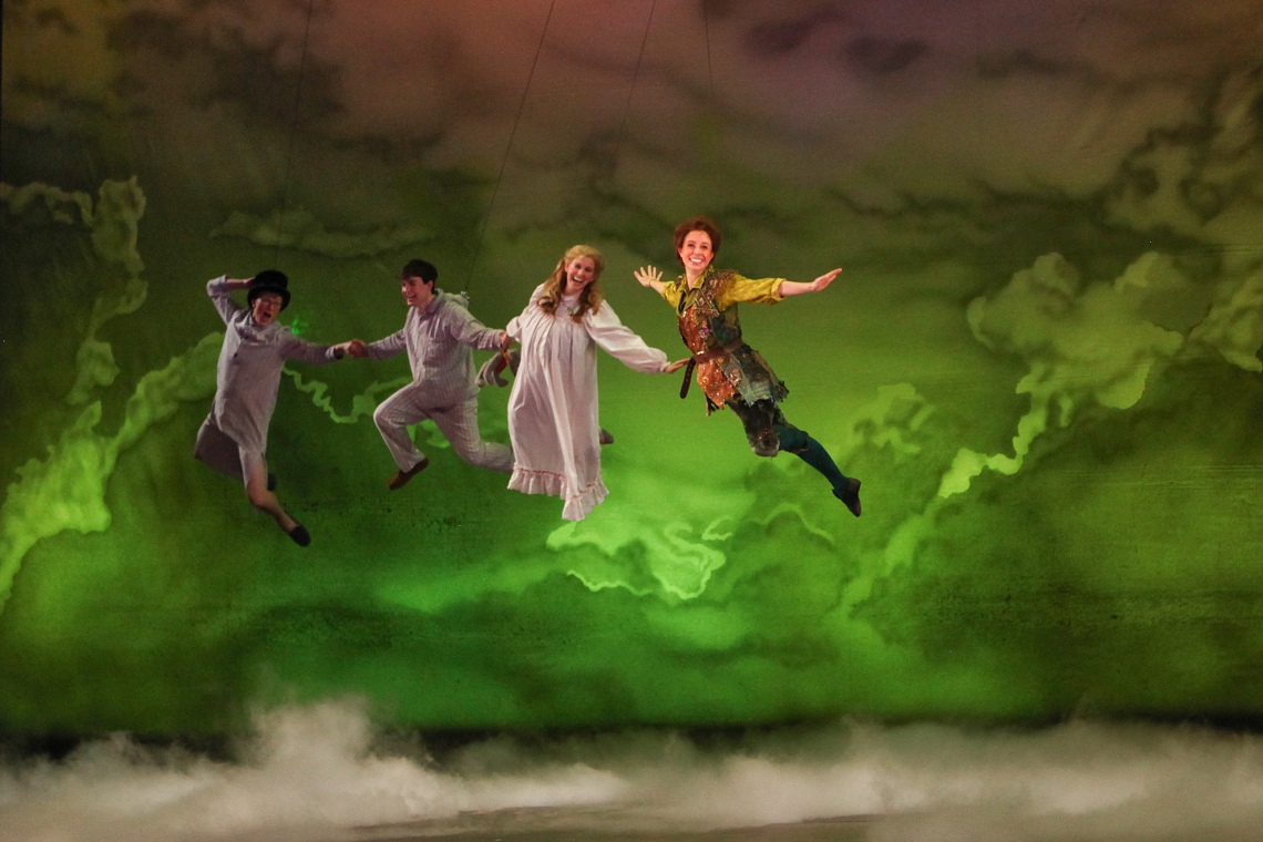 A photo from CCM's Mainstage Series production of 'Peter Pan' from March of 2015. Photography by Mark Lyons.
