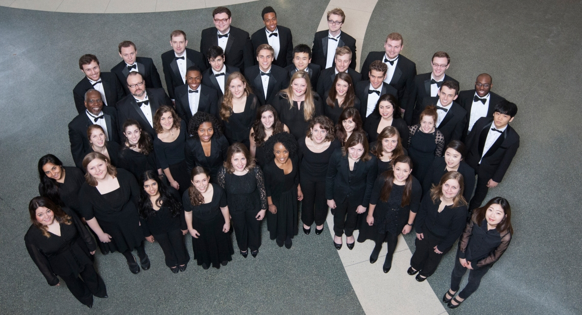 The CCM Chorale. Photography by Lisa Britton.