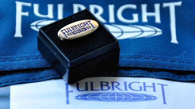 Fulbright Logo and Pin.