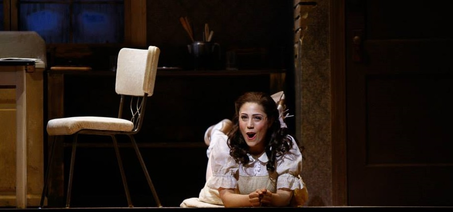 Talya Lieberman in CCM's Mainstage Series production of 'Hansel and Gretel.' Photography by Mark Lyons.