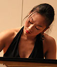 Cincinnati World Piano Competition 2015 finalist Mei Rui.