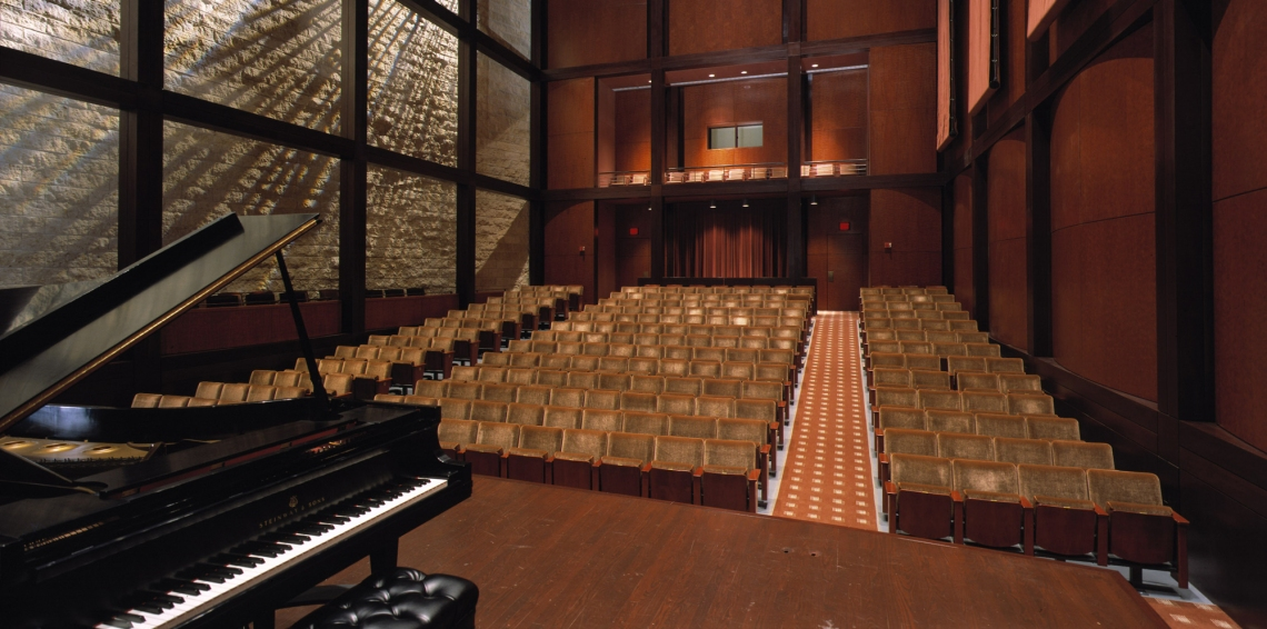 CCM's Robert J. Werner Recital Hall.