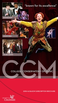 CCM's 2015-16 Season Brochure.