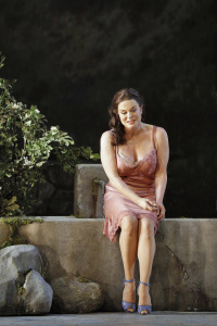 "Italian diva Anna Caterina Antonacci took her cue from Sophia Loren as the character Cesira in ""Two Women"""