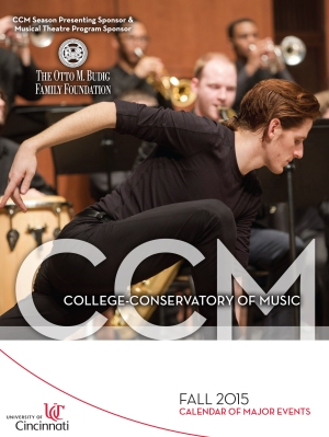 Pick up or download your guide to CCM's fall schedule today!