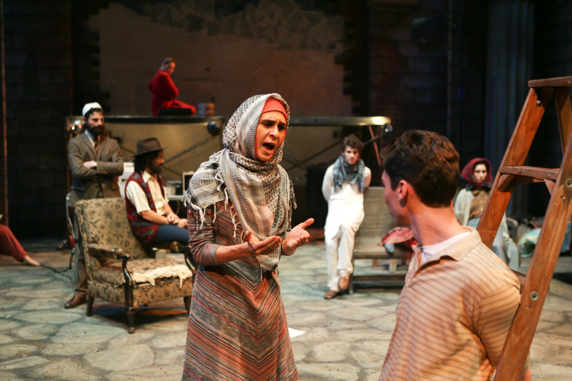 CCM's Mainstage Series presents David Edgar's PENTECOST. Photo by Mark Lyons.