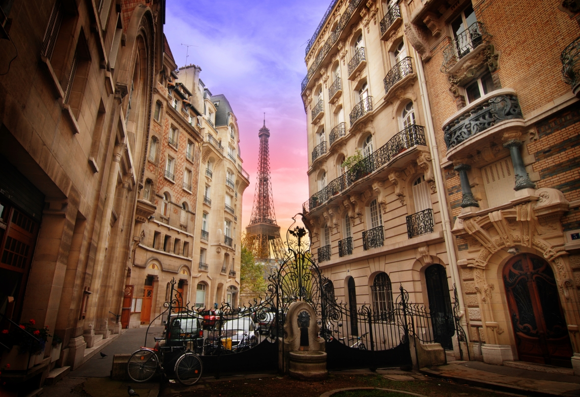 Stock photo of Paris.