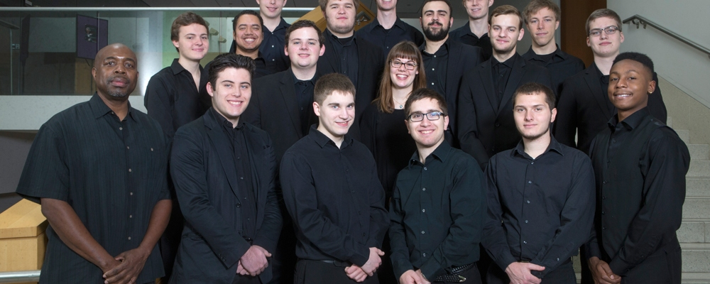 Professor Craig Bailey and the CCM Jazz Lab Band.