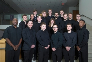 Assistant Professor Craig Bailey and the CCM Jazz Lab Band.