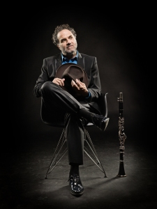 Acclaimed clarinetist David Krakauer joins CCM's Ariel Quartet on Tuesday, Jan. 26, 2016.