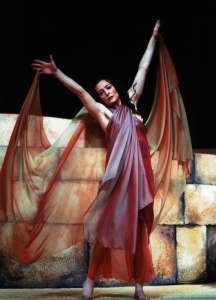 CCM Assistant Professor Amy Johnson in Arizona Opera's production of 'Salome.' Photography by Tim Fuller.