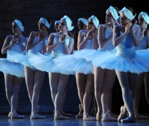 The CCM Ballet Ensemble presents 'Swan Lake.' Photography by Rene Micheo.