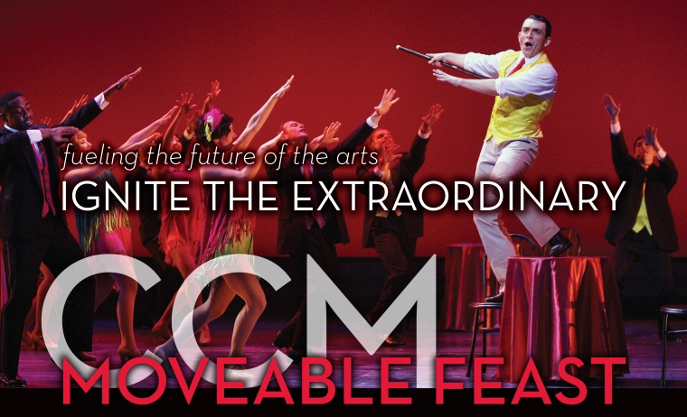 CCM's 'Moveable Feast' benefit event returns on Friday, Jan. 22, 2016!