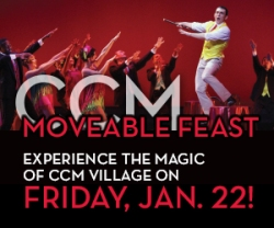 Logo for CCM's 2016 Moveable Feast.