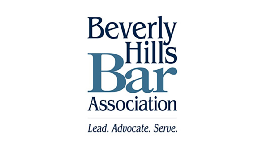 Beverly Hills Bar Association logo.