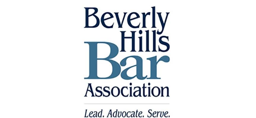 Beverly Hills Bar Association logo.