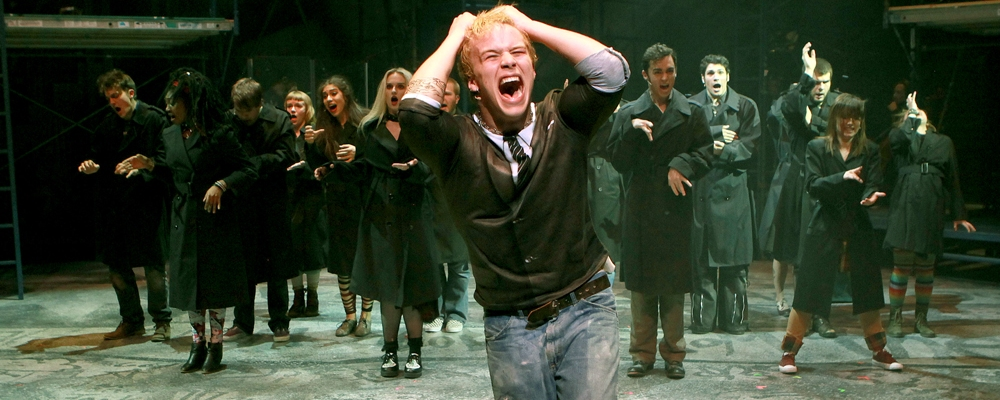 CCM's production of Green Day's 'American Idiot.' Photo by Mark Lyons.