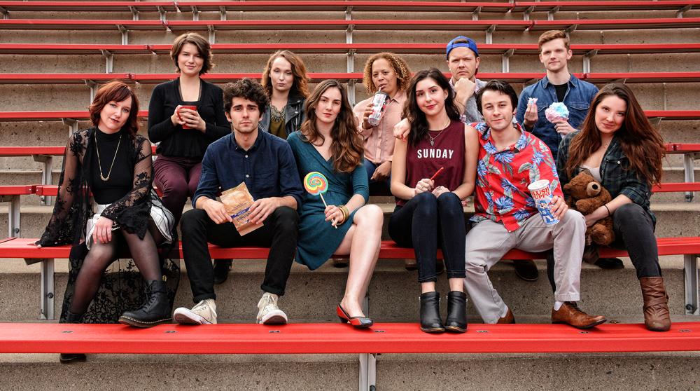 CCM Drama's class of 2016.