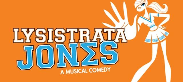 The logo for Broadway's Lysistrata Jones.