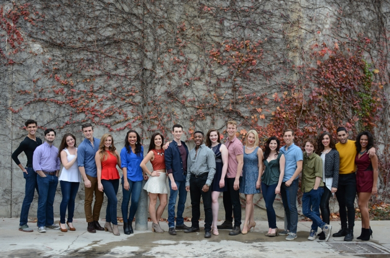 CCM Musical Theatre's class of 2016.