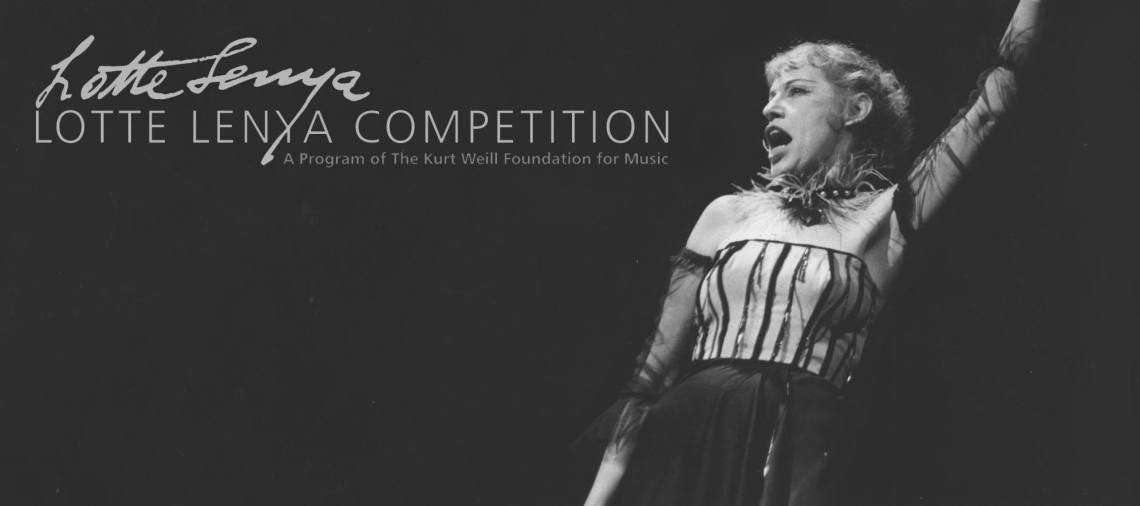 Lotte Lenya Competition Graphic.