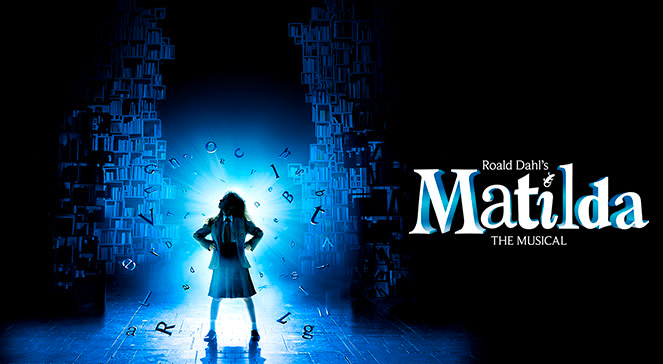 Logo for Broadway's 'Matilda the Musical.'