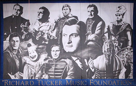 A banner for the Richard Tucker Music Foundation.