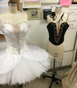 Costuming for CCM's 'Swan Lake.' Photo by Ryan Strand.