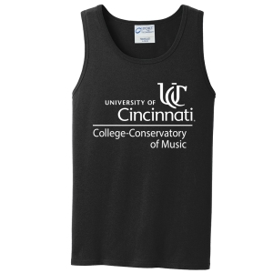 CCM's 5.4 oz. dark heather grey tank top is made from 100 percent cotton and available online!