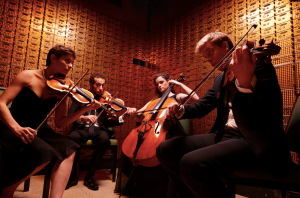 The Ariel Quartet, string quartet-in-residence at CCM.