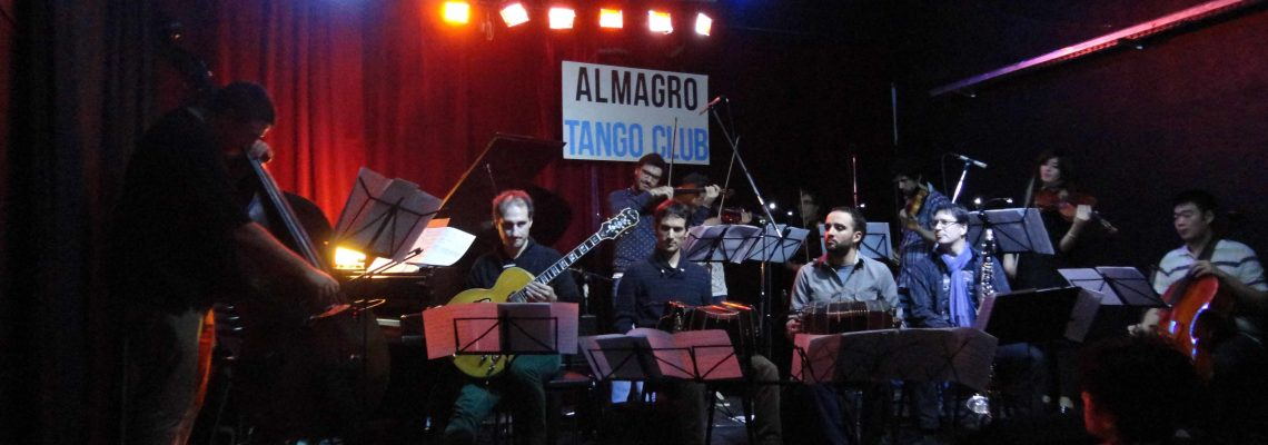 A tanguero performance in Buenos Aries. Photo provided by Kristin Wendland.